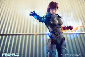 Mass Effect - Commander Shepard by BigWhiteBazooka