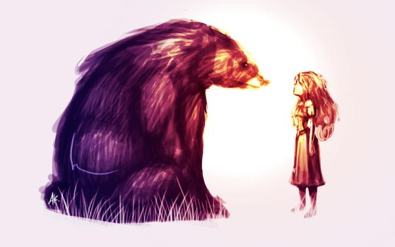 The Bear and the Maiden Fair by EvAneScfan