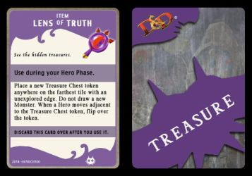 Lens of Truth (Treasure Card) by 001rich100