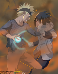 Final Battle ~ Naruto Shippuden by TheMuseumOfJeanette