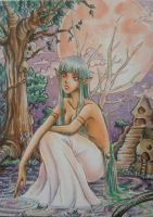 ACEO #31 Elf by MTToto