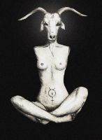 Armless Baphomet edited by MercuriusSublimatus