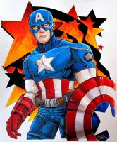 Captain America by KidNotorious
