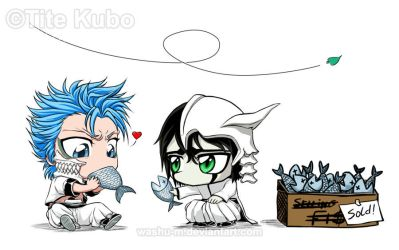 BLEACH - Who Feeds the Kitty? by Washu-M