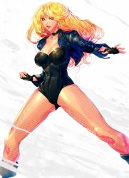 Black Canary-Fanart :D by xdtopsu01