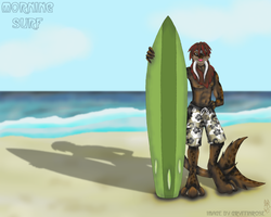 Morning Surf -Chur- by RoseSagae
