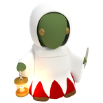 Tonberry Whitemage by SiverCat
