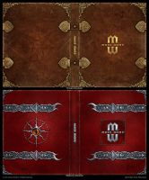 Mage Wars - Spell book sleeves - SET 1 by Deligaris