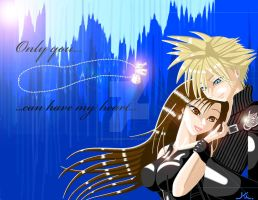 Cloud and Tifa (Only you can have my heart) FINAL by KumoISAMASHII