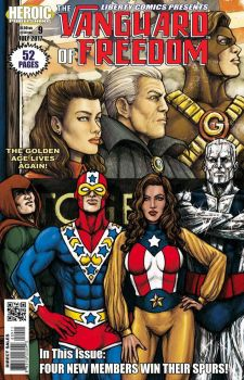 LIBERTY COMICS #9 On Sale in June! by Ulderix