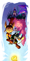 Ratchet and Clank by MousyM