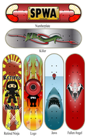 Skateboard Graphics by Sinner-PWA