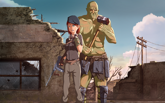 Fallout 4 by xZDisturbedZx