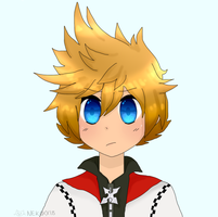 Roxas KH Icon by NeonCandyLights