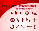 Fluid Magma Cursor Theme by UnrealCoder
