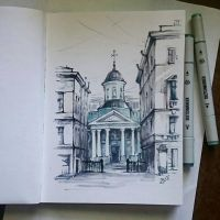 Instaart - Church of Saint Catherine by Candra