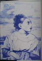 Delacroix meets Ballpoint by bldred