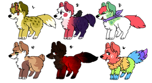 [ Set price canine adopt ] {OPEN} {ONE LEFT} by TheFluffyAdopts