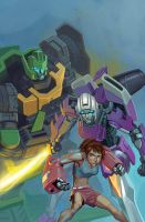 Sins of Wreckers #5 alternate cover by EJ-Su