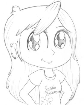Jaiden Animations by DJThunderHeart