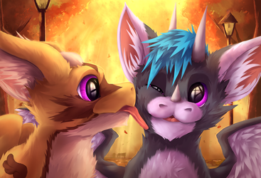 Autumn licks ~ by FierySintle