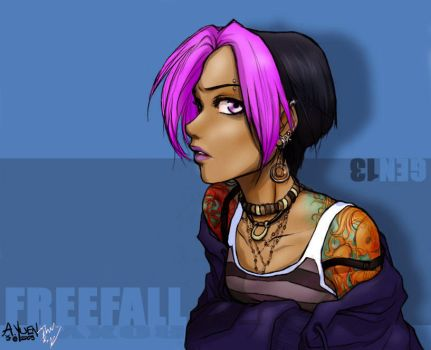 Roxy in color by jmk1999