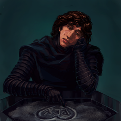 Cute Sad Kylo Ren by LynxC