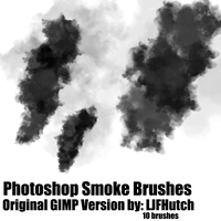 Photoshop Smoke Brushes by deBoru