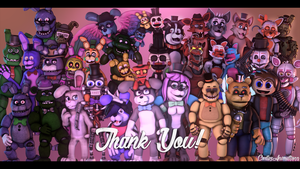 [SFM OC] 300 WATCHERS! THANK YOU SO MUCH! [4K] by CortezAnimations