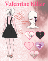 Valentine Killer Reference Sheet { Updated } by Scarmmetry