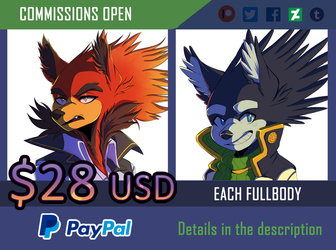 Commissions 2018 (OPEN) by ClassicMariposAzul