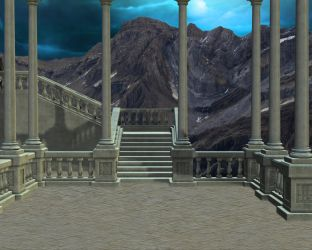 Staircase palace by Nim-Sindarin