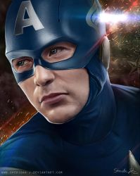 #05 CAPTAIN AMERICA -masked- by Sheridan-J