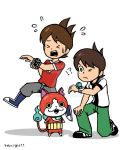 BEN10 and Youkai Watch by 4eknight11
