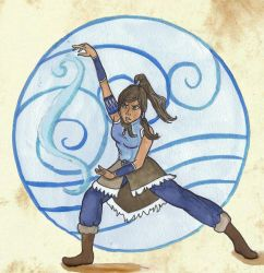 legend of korra by Chouly-only
