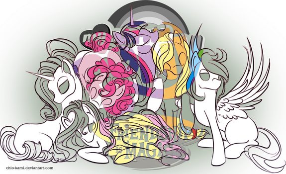 My Little Pony by Chio-Kami