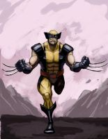 wolverine colored by TCSmith