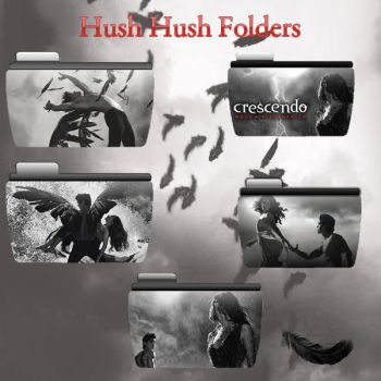 Hush Hush Saga (Folders) by ShadowCath17