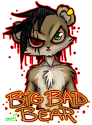Big Bad Bear by JuneRoseXX