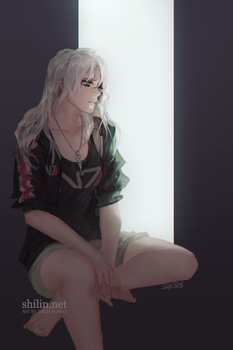 Veloce - sketch for patreon by shilin