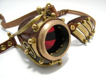 Steampunk Monogoggle 10-1 by AmbassadorMann