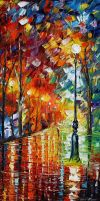 The Right Mood by Leonid Afremov by Leonidafremov
