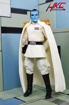 Custom Admiral Thrawn Star Wars Black Series by hunterknightcustoms