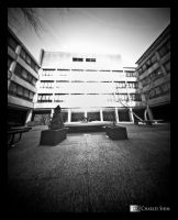 S Building Pinhole by CharliePhotos