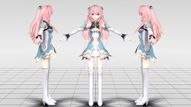 [DTExPDF] Fairy Princess of the Forest WIP #1 by Malik-Hatsune