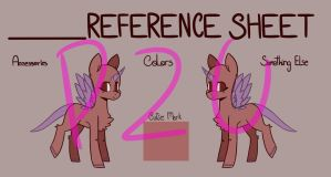 MLP P2U | Reference Sheet by dorkdolphin