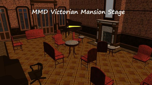 MMD Victorian Mansion Stage by xXFrenchToastXx