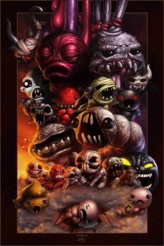 The Binding of Isaac by Emortal982