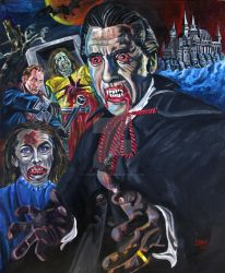 Dracula (Terence Fisher) by JosefVonDoom