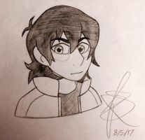 Keith Sketch by Infinity-Drawings